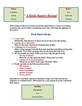 Book Report Ideas!! More Than You Will EVER NEED!!