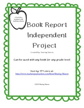 Book Report Independent Project
