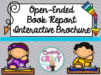 Book Report Interactive Brochure