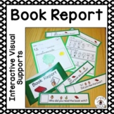 Book Report with Interactive Visual Supports
