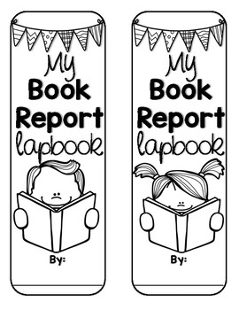 Book Report Lapbook - Fiction/Literature *Any Book!*