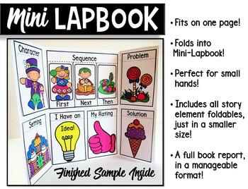 Book Report Lapbook Mini