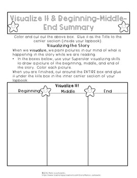 Book Report Lapbook Reading Response Superstar Project