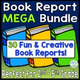 Book Report MEGA Bundle! 24 Best-Selling Book Report Templates {2nd - 5th Grade}
