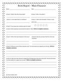 Book Report -- Main Character