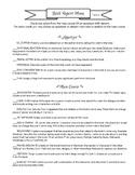Book Report Menu Term 2