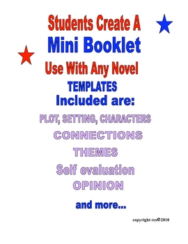 Book Report MiniBook Project