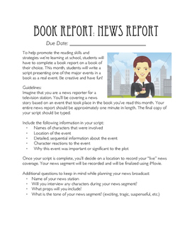 Book Report: News Report
