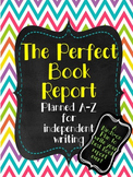 Easy Independent Book Report, Outline Summary, Rubrics & T