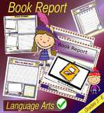 Book Report PDF File - Works for any Story Ready Made