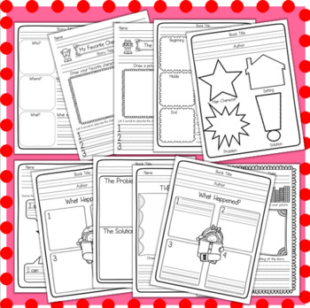 Book Report Pack - Primary