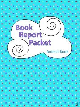 Book Report Packet - Animal Book PDF