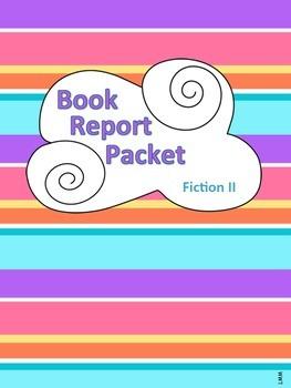 Book Report Packet - Fiction II PDF