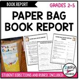 Book Report- Paper Bag Book Report