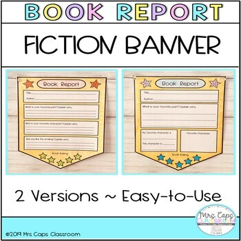 Book Report Banner