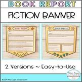 Book Report Banner
