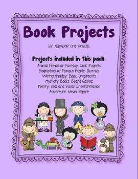 Common Core-Friendly Book Report Project Bundle