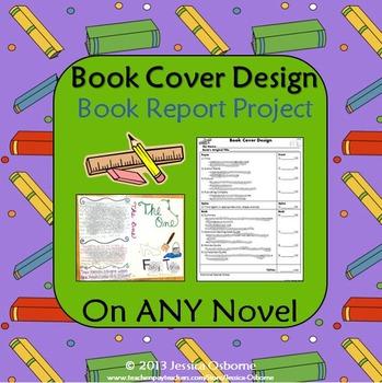 Book Cover Design Book Report Project