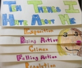 Book Report Project: Foldable Story Plot Project