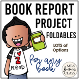 Book Report Project Foldables Pack / Story Response Foldab