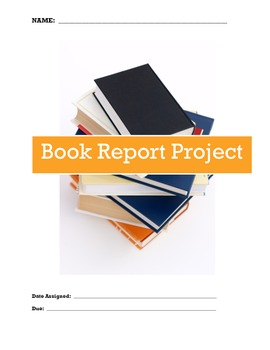 Book Report Project and Planner