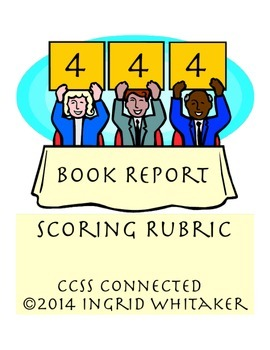 Book Report Scoring Rubric For Any Book
