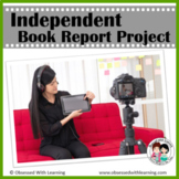 Book Report Project for Any Fiction or Nonfiction Book Inc