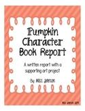 Book Report - Pumpkin Characters