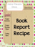 Book Report Recipe with Rubric (Narrative Elements)