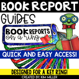 Book Report Reference Guides for a Key Ring