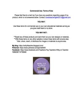 Book Report Response Card