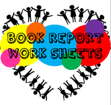 Book Report/Review Worksheets (Various ability levels) - N