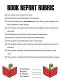 Book Report Rubric Elementary School