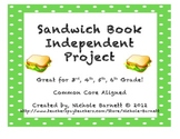 Book Report- Sandwich Style