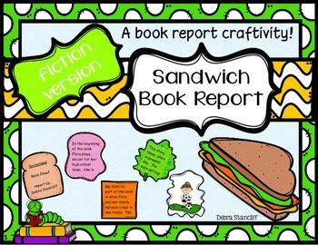 Book Report Sandwich ~fiction~