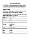 Book Report Schedule for Upper Elementary