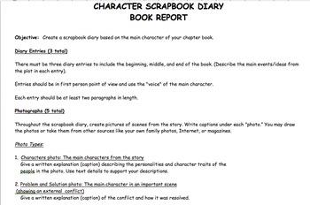 Book Report: Scrapbook Diary
