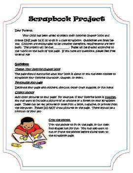 Book Report: Scrapbook Project