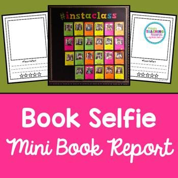 FREE Book Report Selfie