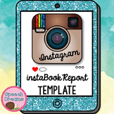 Book Report Template | Instagram | Distance Learning