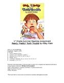 Book Report Summer Homework Editable