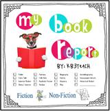 Book Report Template & Graphic Organizers