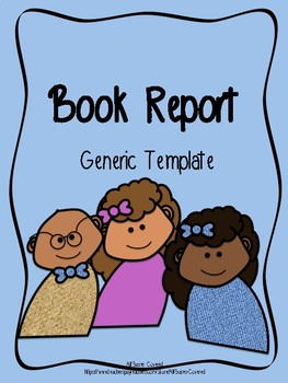 Book Report Template FREEBIE!