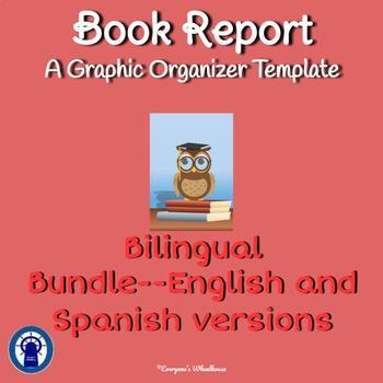 Book Report Template Bilingual Bundle