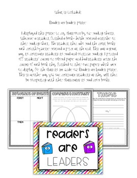 Book Report Template Grades 4-6