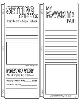 Book Report Template - Project
