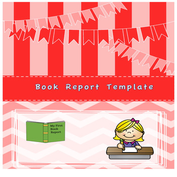 Book Report Template for elementary students