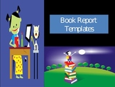 Book Report Templates PPT