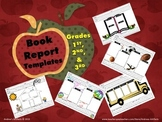 Book Report Templates for 1st, 2nd & 3rd Grades