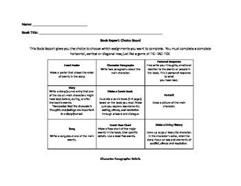 Book Report: Tic-Tac-Toe Board